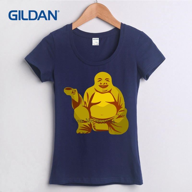 7d0e4bce5 Retro T Shirt 2017 Oh My Buddha T Shirt OMB OMG Funny Spiritual Karma  Laughing Happy Namaste Buddhist Tees Cotton Simple-in T-Shirts from Women's  Clothing ...