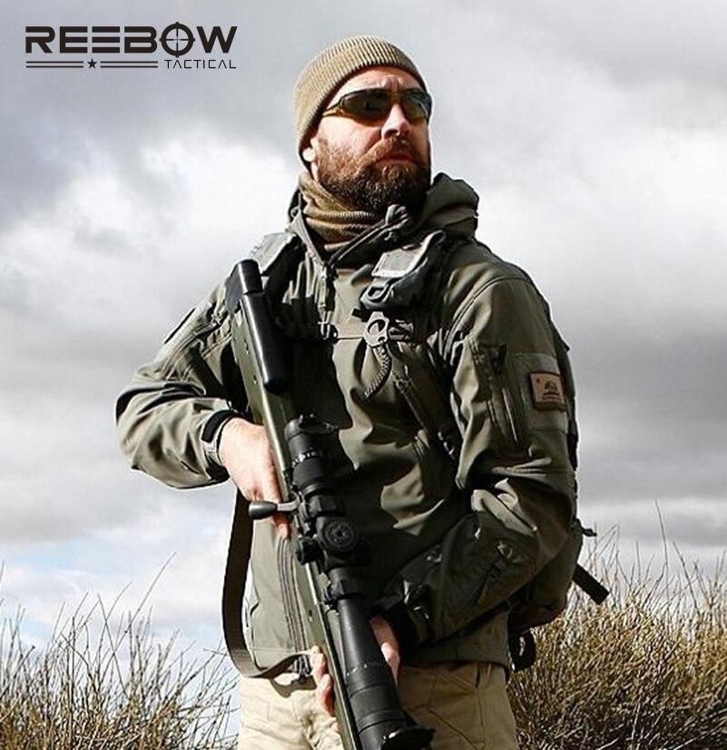 V4.0 imperméable à l'eau doux Shell veste tactique en plein air chasse Sports armée SWAT militaire formation coupe-vent manteau d'extérieur vêtements - 5