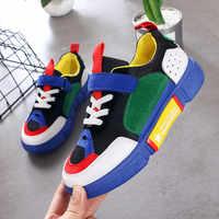 2019 automne enfants baskets filles chaussures garçons décontracté enfants chaussures pour fille Sport course Enfant chaussures Chaussure Enfant