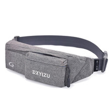 Unisex Outdoor Sports Canvas Waist Pack Men Solid Fashion Belt Women Waist Bag Pouch Zipper Nylon Multi-color Fanny Pack