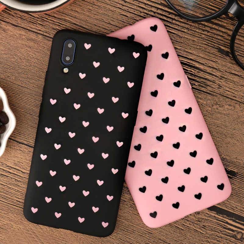 Heart Lovers Phone Case For Samsung Galaxy A6 A7 A8 A9 J4 J6 Plus J8 2018 J2 J4 Core Pro A10 A30 A50 A70 A40 M10 M20 M30 Cover
