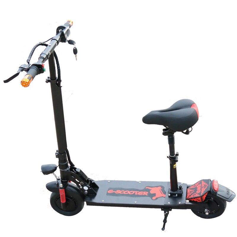 Scooter électrique de Longboard de Scooter électrique puissant de 350 W Mini Scooter électrique adulte Scooter électrique pliable de dérive Scooter léger - 5