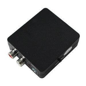 Image 2 - Conversor coaxial/óptico toslink spdif para estéreo 3.5mm jack ou l/r rca áudio suporte dts, pcm