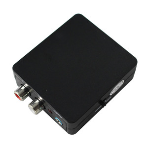 Image 2 - デジタルアナログオーディオデコーダコンバータ同軸/光学 spdif の toslink ステレオ 3.5 ミリメートルジャックまたは l/r rca オーディオサポート dts 、 pcm