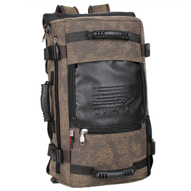 260fd7c3e0ed stacy bag hot sale brand high quality men canvas travel backpack male large  capacity travel bag man big mountaineering bag-in Backpacks from Luggage    Bags ...