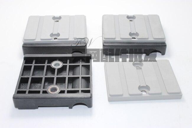 10pcs Original Nanxing edge banding machine conveyor chain block 80 72 18mm Xiaofeng edge banding machine