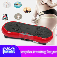 massage vibrating plate slimming machine LCD butterfly with Bluetooth stereo fat burning gym exercise fitness equipment HWC
