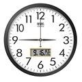 Светодиодные настенные часы с температурой цифровые настенные часы современный дизайн большие кухонные часы домашний дом Декор Винтаж Marij ...