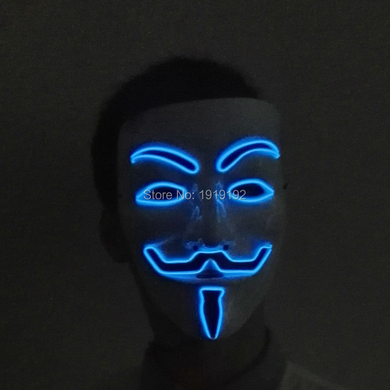 ③Vendetta el wire Masks Cosplay MASK Costume Anonymous mask for ...