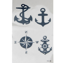 1pcs Temporary Tattoos Waterproof Fake Tattoo Transferable Tattoos For Men Female Sexy Stickers Waterproof Tattoo Stickers 0410B