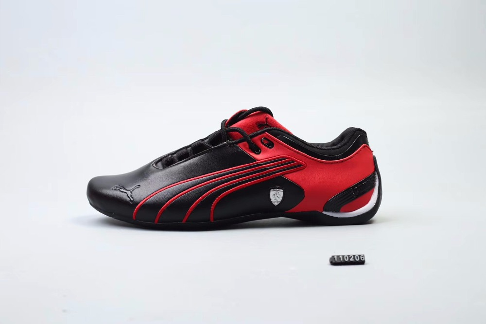 Original Puma Future Cat M2 SF Breathable Men's Leather Sneakers Shoes RedWhiteBlack Badminton Shoes Size40 45 in Badminton Shoes from Sports &