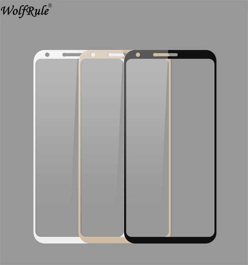 Screen Protector Glass For LG Q6 Glass 9H Tempered Glass For LG Q6 Full Cover Glass For LG Q6 / Q6 Alpha M700 Film WolfRule
