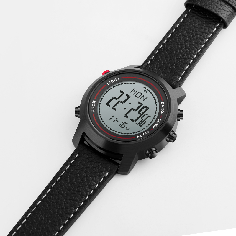 CAINO Outdoor Compass Sports Watch Men Digital Wristwatches Mountain Altitude Pressure Countdown Waterproof Relogio Masculino cctv 8ch passive video balun camera cat5 dvr bnc utp rj45 transceiver security cctv video balun transmitter 1pcs