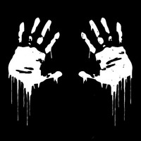 sticker motorcycle accessories 7.5*15CM Zombie Bloody Hands Print Funny Vinyl Car Sticker Styling Motorcycle Window Decal Accessories Black White Red (3)