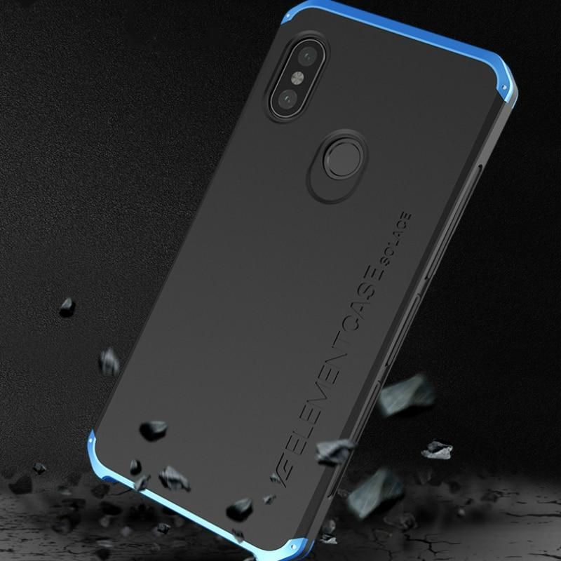 Case for Xiaomi Redmi Note 5 pro case Metallic Aluminum+Plastic Cover Luxury Phone Cases Coque for redmi note 5 case Matte #010
