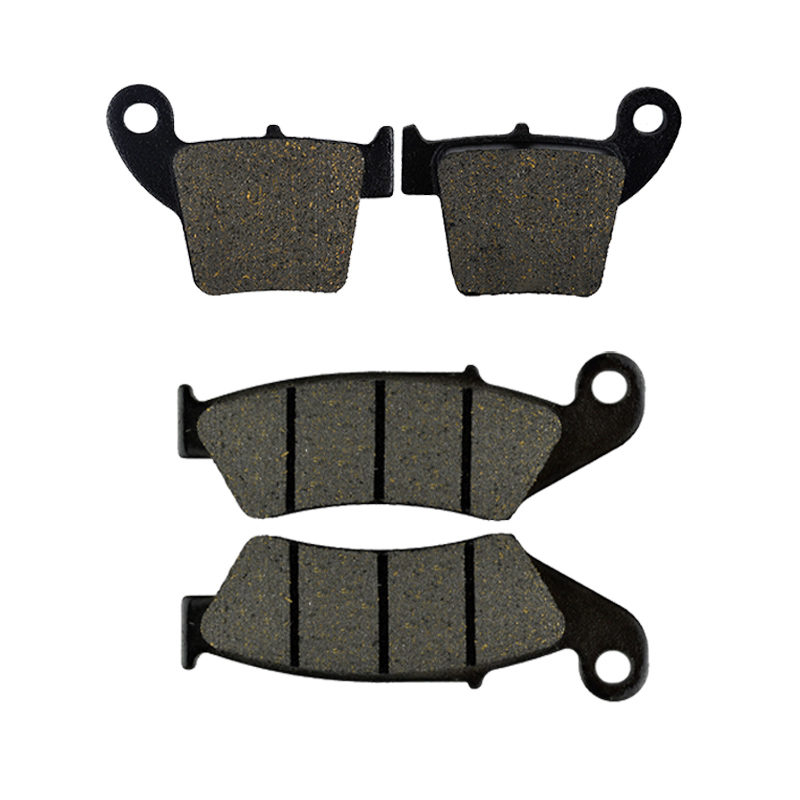 Motorcycle Parts Front & Rear Brake Pads Discs For HONDA CRF250R CRF250X 2004-15 CR125R CR250R 02-07 CRF450R 02-15 CRF450X 05-15 cnc offroad mx clutch brake levers for honda cr125r 04 07 cr250r crf250r 04 06 crf450r 04 06 crf250x 04 16 crf450x 05 16