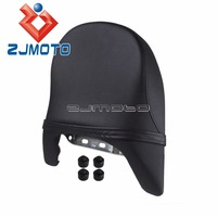 Motorcycle Seat Cover For Suzuki Boulevard M109R 2006 2012 LT VZR1800 Intruder 2007 2008 PU Leather Rear Passenger Seat Cushion