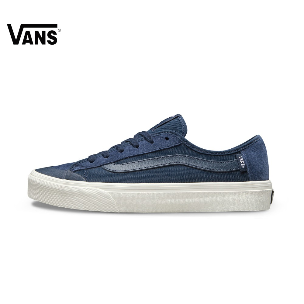Original Vans New Arrival Blue low Lover's Skateboarding Shoes men's&women's Canvas Shoes Authentic Sneakers free shipping