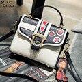Мара Мечта Летом сумки модные тенденции ударил цветной печати небольшой площади сумка сумка сумка мультфильм кулон