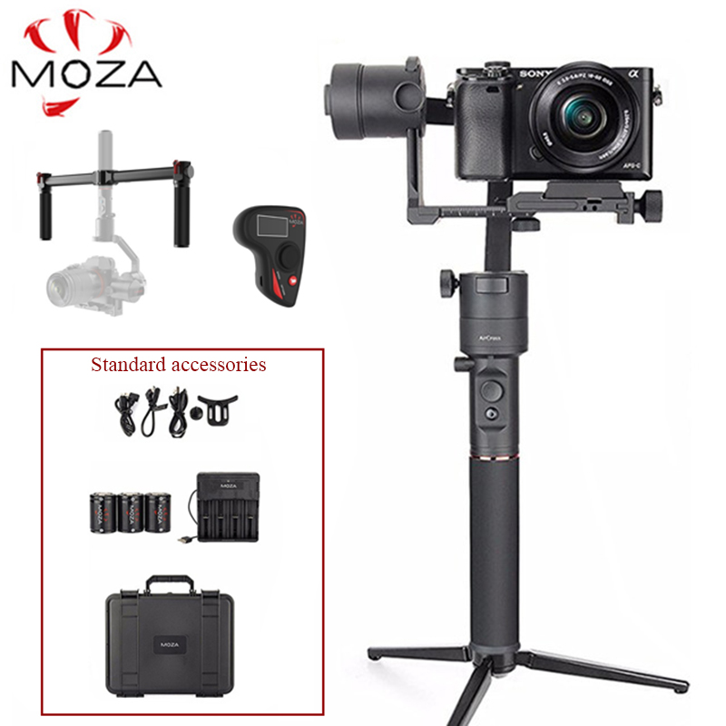 MOZA Aircross 3 Axis Handheld Gimbal Stabilizer Load 1.8KG For DSLR Mirrorless Camera Canon EOS