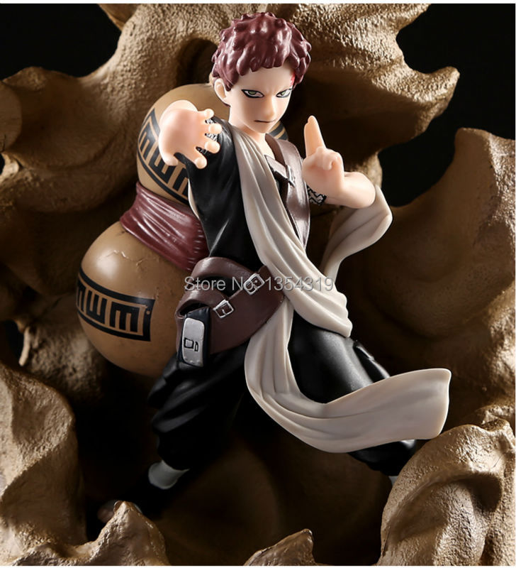 Yeni Anime Naruto Ekil Gaara Sabaku Bir Pvc Action Figure Model