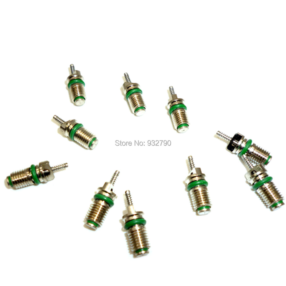 10pcs R134a Air Condition Valve Core for R134A AC System Refrigerant Valves