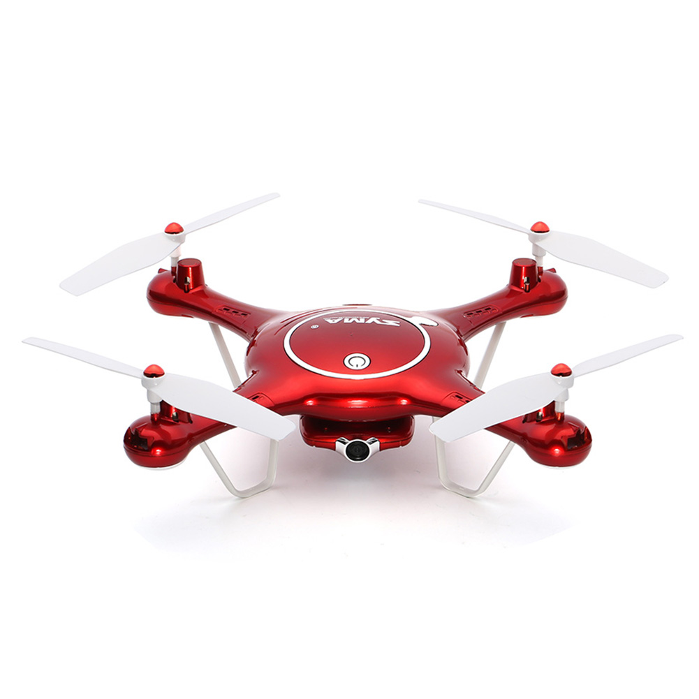 2018 New Aerial Four-axis Aircraft WIFI Real-time Transmission Fixed High Headless And UAV Model Aircraft Toys