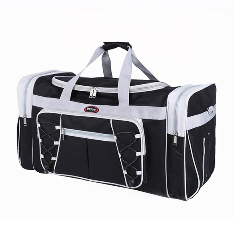Мъжки пътни чанти Уикендс Мода Багаж Голямо Опаковане Кубове Чанта Уикендър Пътуване Чанта за Мъже 30% OFF X082