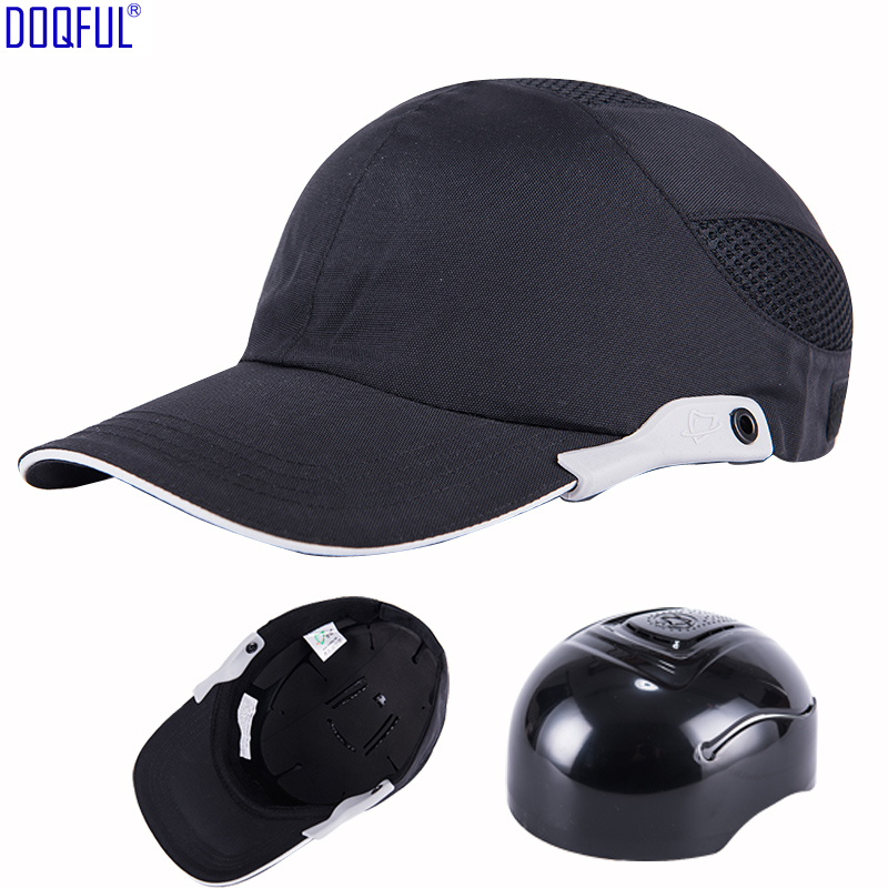 Work Safety Crash Helmet Baseball Bump Cap Casco De Seguridad Lightweight Breathable Head Protection Driver Worker Sunscreen Hat