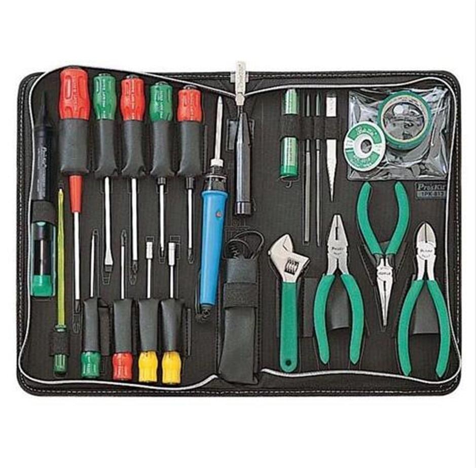 1PK-813B-1 Basic Electronic Toolkit (220V), Hand Tool Set Screwdriver Pliers Needle File Tools Set1PK-813B-1 Basic Electronic Toolkit (220V), Hand Tool Set Screwdriver Pliers Needle File Tools Set