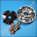 KOSO High Performance Variator Set with Copper Rollers For Most Chinese 50cc GY6 Scooter Honda Dio ZX Spare Parts