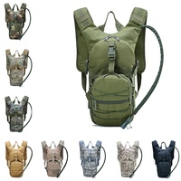 Structure Hydration Backpack Molle Military Outdoor Camping Hiking Camelback Nylon Camel Water Cycling Bladder Bags