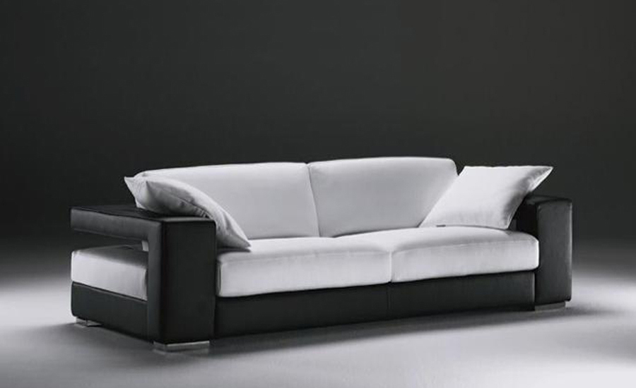 Finest Free Shipping Sigle Sofa Modern Design Classic Simple Design Genuine  Leather Seater With Designer Sofa.