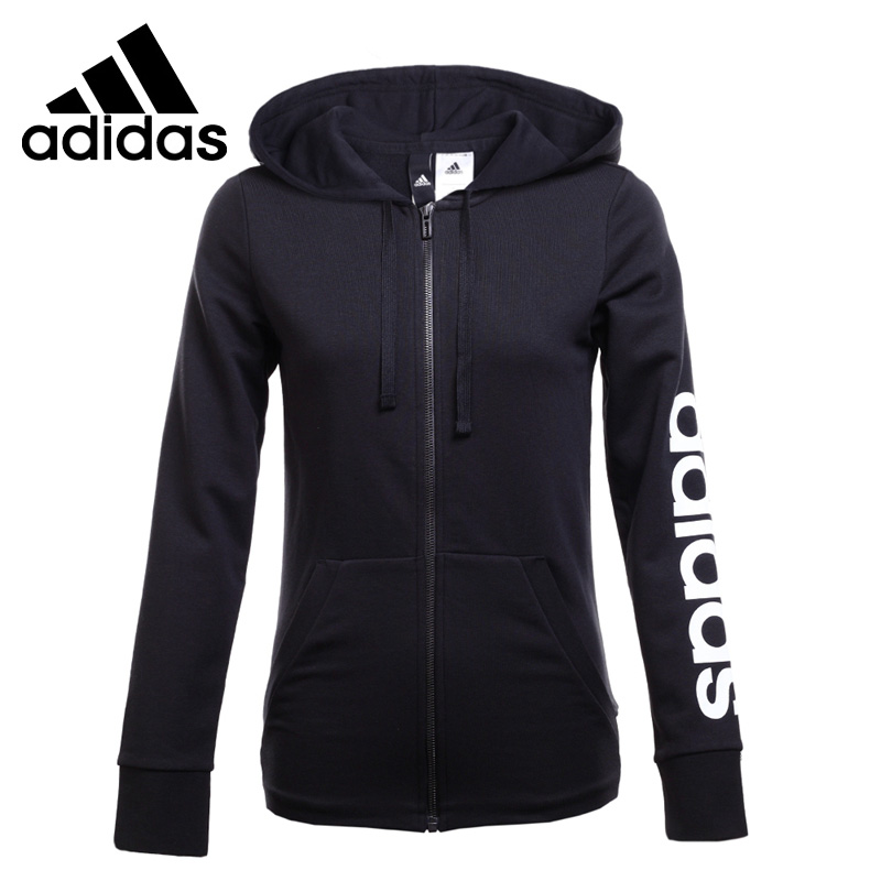Original New Arrival 2018 Adidas ESS LIN FZ HD Women's jacket Hooded Sportswear