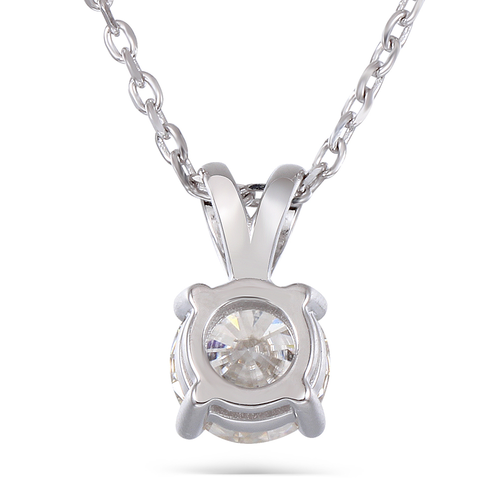 diamond silver necklace (5)