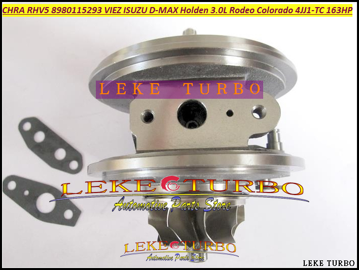 Free Ship Turbo Cartridge CHRA Core RHV5 VIEZ 8980115294 8980115297 For HOLDEN Rodeo Colorado for ISUZU D-MAX 4JJ1T 4JJ1-TC 3.0L free ship turbo rhf4 8980118923 vife 8980118922 turbocharger for isuzu d max for holden rodeo colorado gold series fe 1106 3 0l