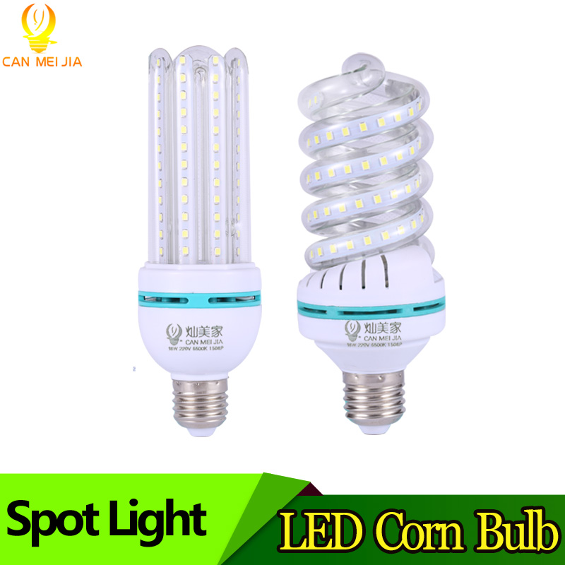360 Degree Bright LED Bulb E27 Corn Lamp Light 3W 5W 7W 9W 15W 24W 32W SMD2835 Energy Efficient Bombillas Led Lamparas 220V energy efficient 7w e27 3014smd 72led corn bulbs led lamps