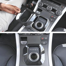 цена на Car Gear Shift Panel Frame Trim Car-covers Styling Sticker For Land Rover Range Rover Evoque 2012-2017 Auto Accessories