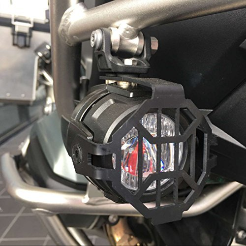 Motorcycle LED Fog Light Safety Driving Lamp with Bike Auxiliary Fog Accessories Guards & Wiring Harness for BMW R1200GS ADV