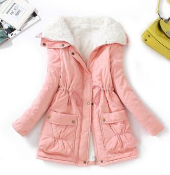 Winter Jacket Children 2018 New Thick Cotton Padded Teenager Girls Outwear Coat Casual Turn-down Collar Kids Long Warm Parka 2018 new girls long padded jacket children winter coat kids warm thickening down coats for kids outwear leisure parka kid jacket