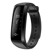 Smart Сердечного ритма Приборы для измерения артериального давления измеритель пульса браслет Фитнес часы SmartBand M2S для IOS Android PK fitbits ID107