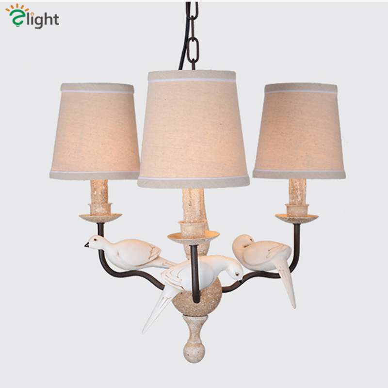 Online Get Nordic Lights Resin Bird Chandeliers Aliexpress
