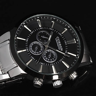 Image 5 - Curren relogios masculinos 2016 Luxury Brand Watch Men Fashion Watch Quartz Business Casual Wristwatch Full Steel Men Watch-in Quartz Watches from Watches