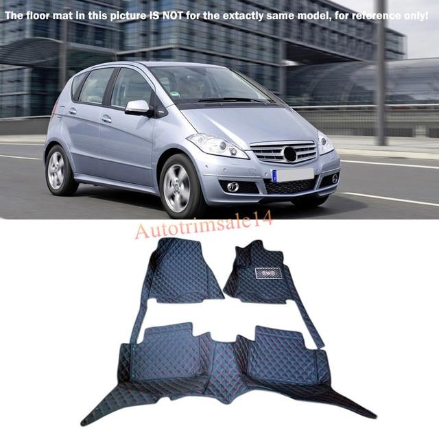 Interieur Tapis De Sol Et Tapis Pied Pad Pour Mercedes Benz Classe A