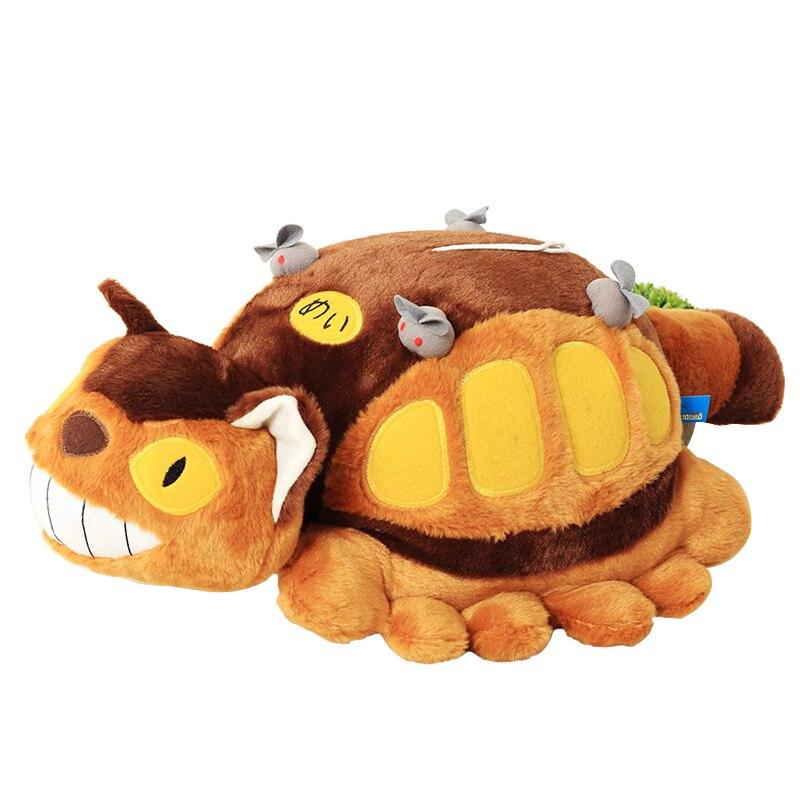 12''30cm Hot Anime Studio Ghibli Meu Vizinho Totoro Cat Bus Plush Toy Stuffed Boneca de Pelúcia Presentes Criativos para crianças
