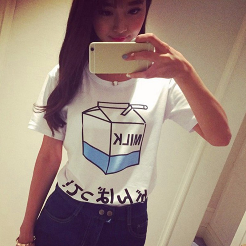 HTB1RoNCNXXXXXX0aXXXq6xXFXXXz - Summer Fashion Milk Box T Shirts