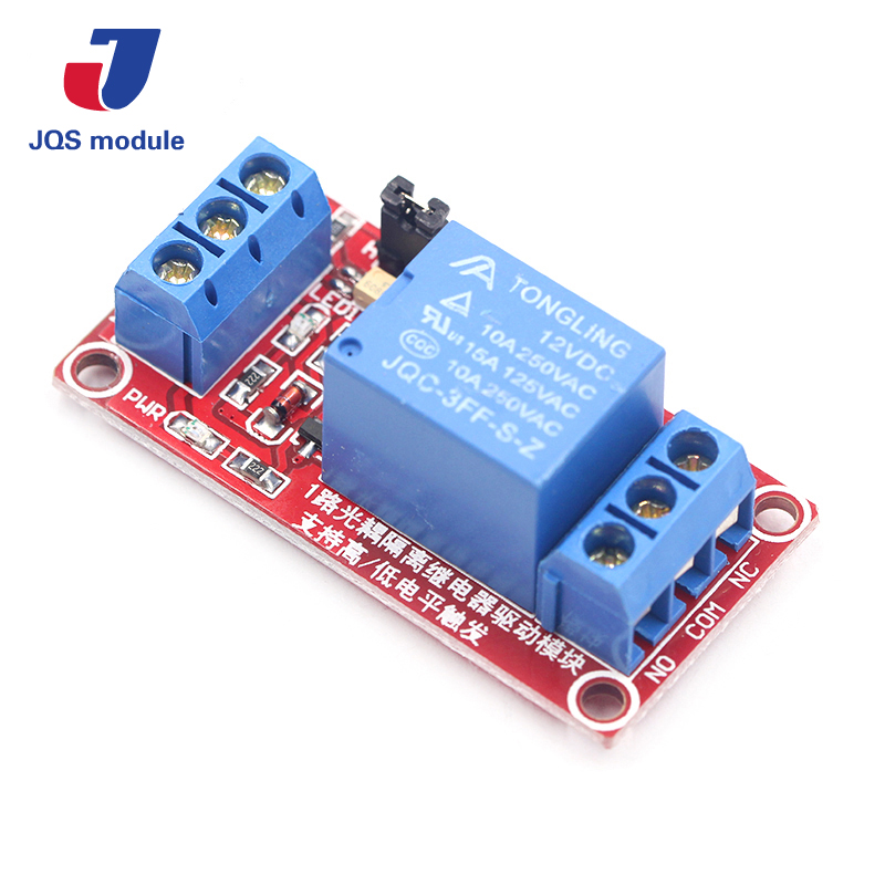 цена на 12V One 1 Channel Relay Module Board Shield with optocoupler Support High and Low Level Trigger