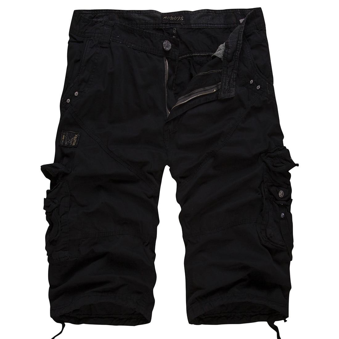 Shorts Men Cool Camouflage Summer Hot Sale Cotton Casual Men Short Pants Brand Clothing Comfortable Camo Men Cargo Shorts K5822