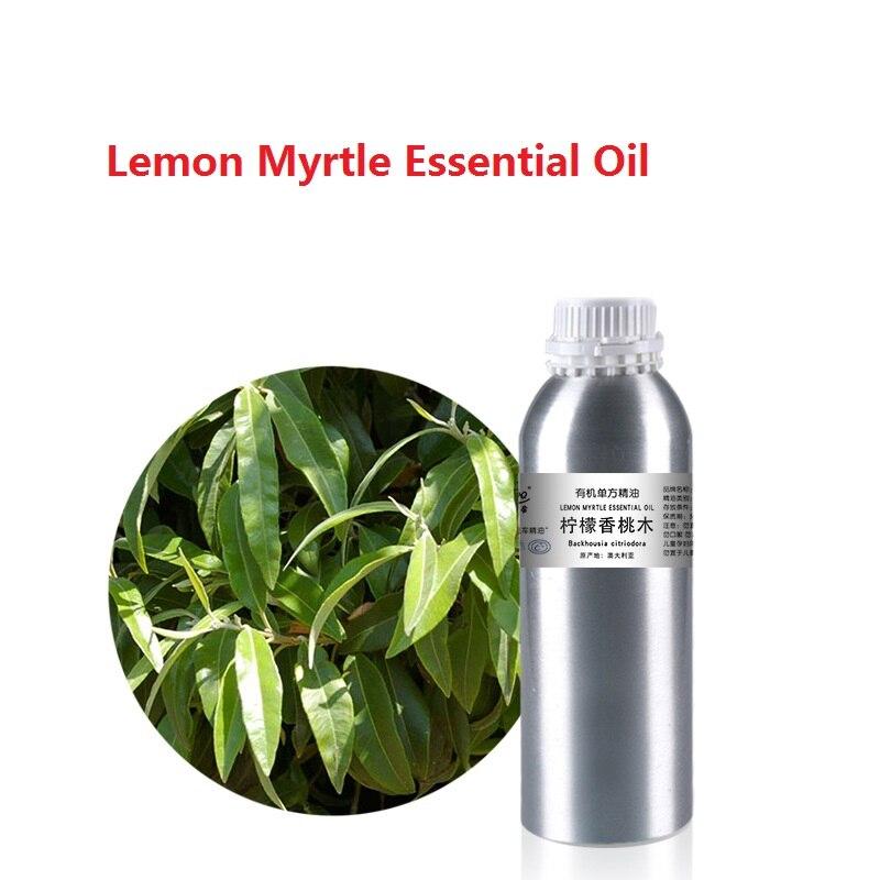 Cosmétiques 50 ml/bouteille Citron Huile Essentielle de Myrte végétale pressée à froid biologique huile végétale Grattage, massage soins de la peau