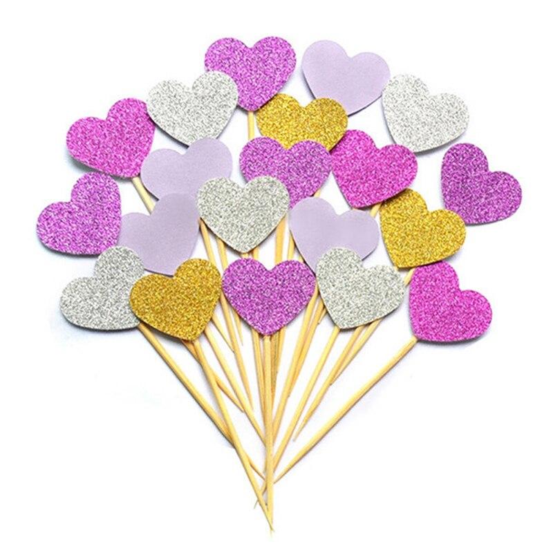 10 шт./лот, 1 день рождения, украшение, игрушки, шляпа, детская вечеринка, игрушка, много цветов, кекс, топперы, принцесса, корона, шляпа, игрушки для детей - Цвет: Фиолетовый